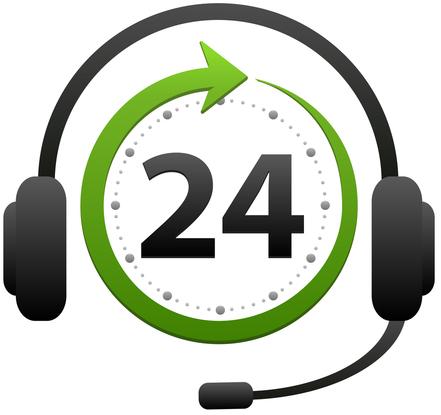 خدمات 24 ساعته